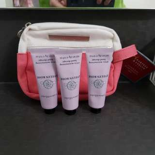 BN Crabtree & Evelyn Handcream + Pouch Set
