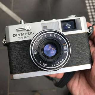 Olympus 35RC Film Rangefinder Camera *FILM TESTED*