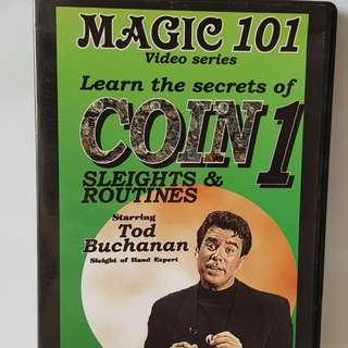 Magic 101 Coin Magic DVD