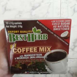 Best Herb 8in1 Coffee Mix