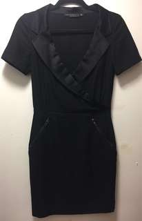 MACKAGE Black Dress s4 mrrp $400, now $80