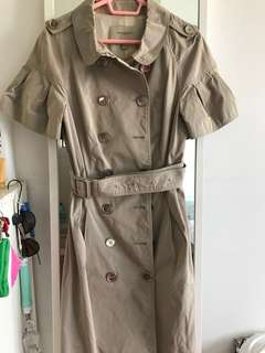 Authentic: Burberry polyester trench coat