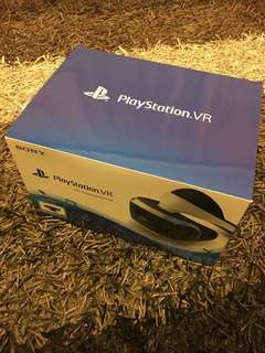 Playstation VR (PSVR) with Camera