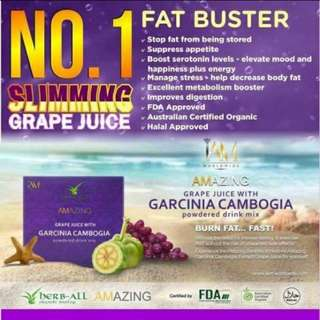 Amazing Grape Juice with Garcinia Cambogia