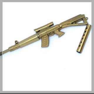 Golden Rifle Gun Ballpoint Pen! Very cool!