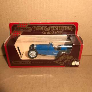 Matchbox Models of Yesteryear Grand Prix - Y-11/1932 Bugatti Type 51