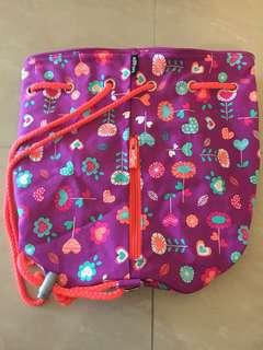 smiggle draw string beach bag
