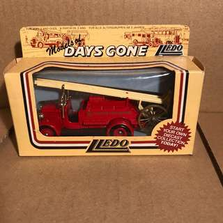 Models of Days Gone by Lledo - Glasgow Fire Brigade Truck