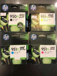 HP Orig Ink Cartridge Set of Black,Cyan,Yellow,Magenta