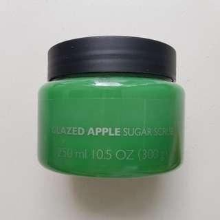 The Body Shop Glazed Apple Sugar Scrub 250ml/300g