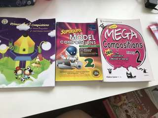 P2 English Assessment Books (composition)