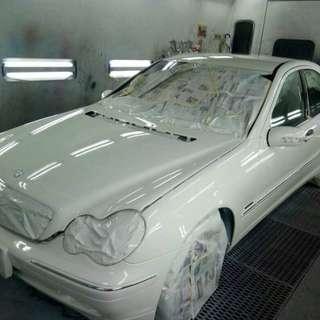 Cat kereta promosi dgn free wax polish