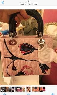 Lady Dior 限量版真皮手袋