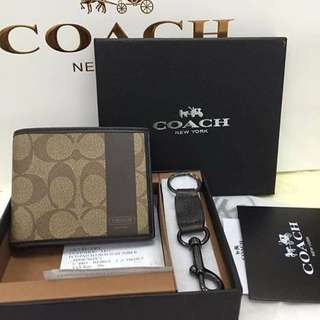 Brand new!! Authentic Coach Wallet