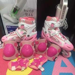 可調式溜冰鞋