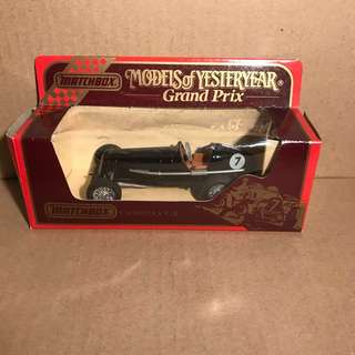 Matchbox Models of Yesteryear Grand Prix - Y-14/1935 E.R.A. 'R.1.B'