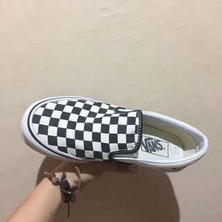 Classic Vans Slip On (Checkerboard) 7.5wns