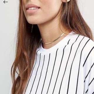 Asos choker necklace #超取再七折