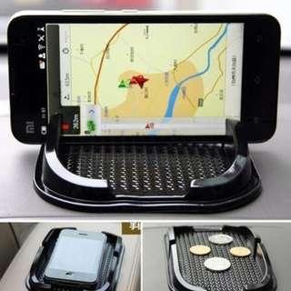 Car anti slip pad single phone holder navigation dashboard skid mat