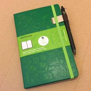 Moleskine Evernote Smart Notebook + Pilot Pen