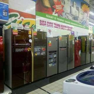 Kulkas dan elektronik rumah tangga bisa di cicil cukup 199.000