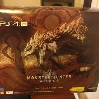PS4 Pro 1TB *Monster Hunter World*🔥
