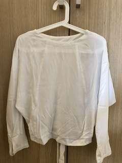 全新 女裝白色上衣