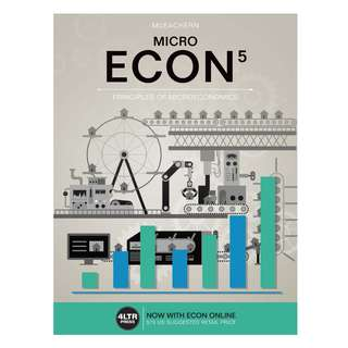 MICRO ECON 5 Principles of microeconomics