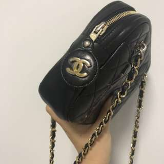 Double chain vintage chanel