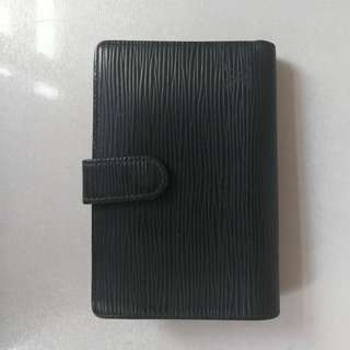 LV wallet Epi black銀包
