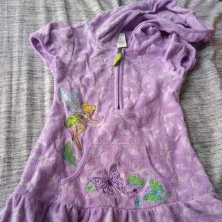 Disney Tinkerbell Towel Dress