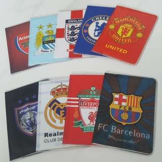 Football Club Team Passport Holder