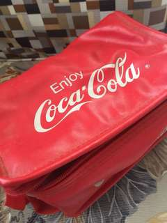 Vintage Coca-Cola container bag