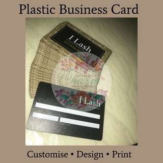 Plastic Business Card