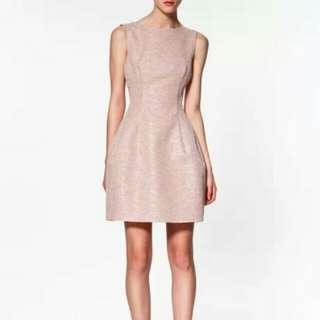 Zara Tweed Tulip Dress