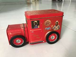 Famous Amos Cookies Truck Container