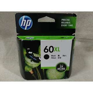60% Discounted BNIB Original HP 60XL Black Ink Cartridge