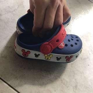 Disney Crocs with Lights