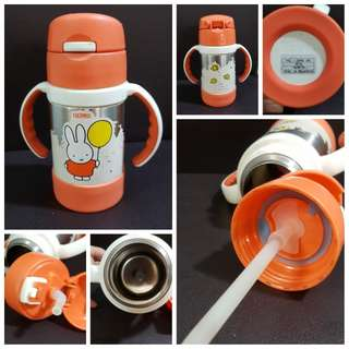 Thermos sippy cup with handle