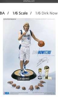 Enterbay NBA Figure Dirk Nowitzki , curry , griffin ,hardaway , durant