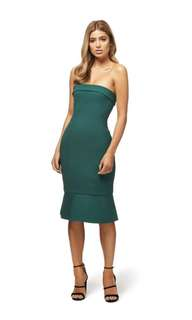 Kookai Mantra dress - Deep Green