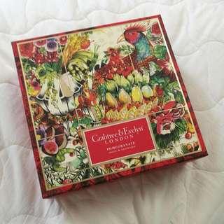 crabtreee and evelyn 石榴 pomegranate shower and towel 沐浴露,毛巾 限量套裝