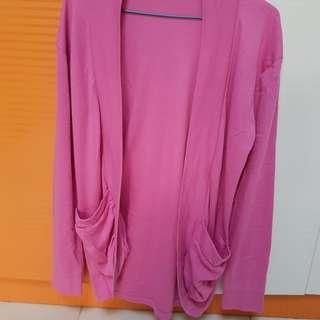 Pink Cardigan for Ladies