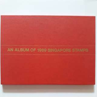 An Album or 1989 Singapore Stamps