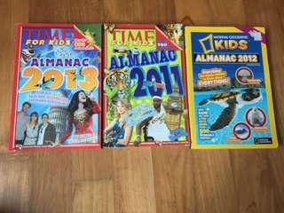 Almanac books for kids