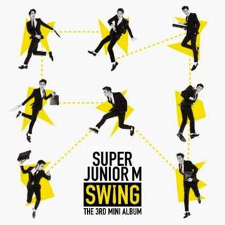 Super Junior M SWING The 3rd Mini Album