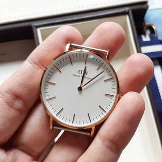Daniel Wellington 36mm gold