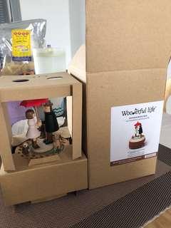 Wonderful Life Wooden Music Box