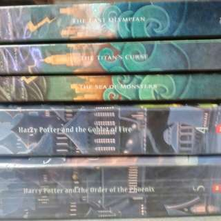 Harry Potter and Percy Jackson Books