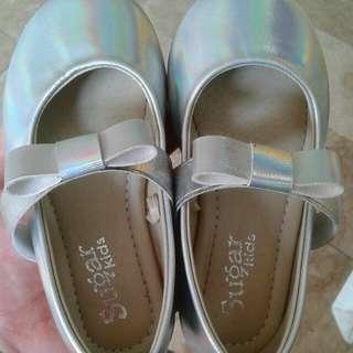 Sugar Kids Silver Shoes